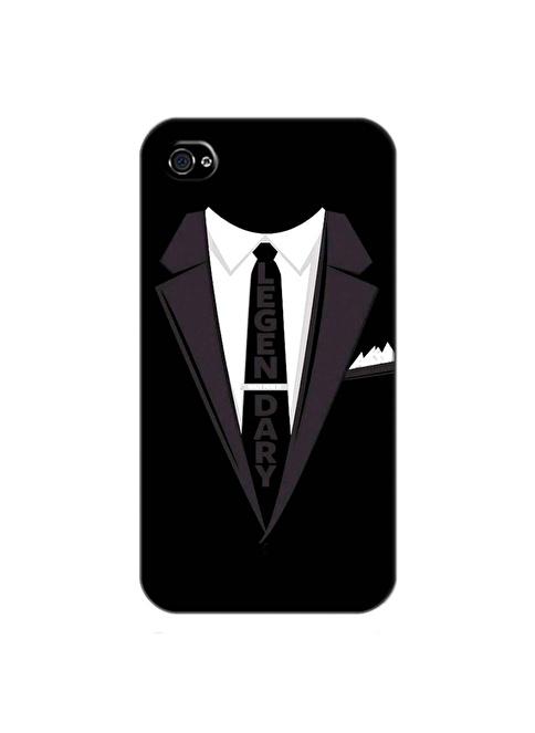People's Cover iPhone 4/4S Kabartmalı Kapak Renkli